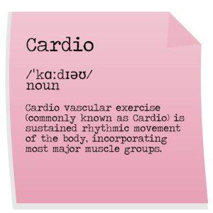 Cardio definition