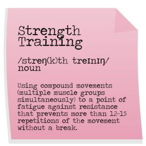 Strength Training definition